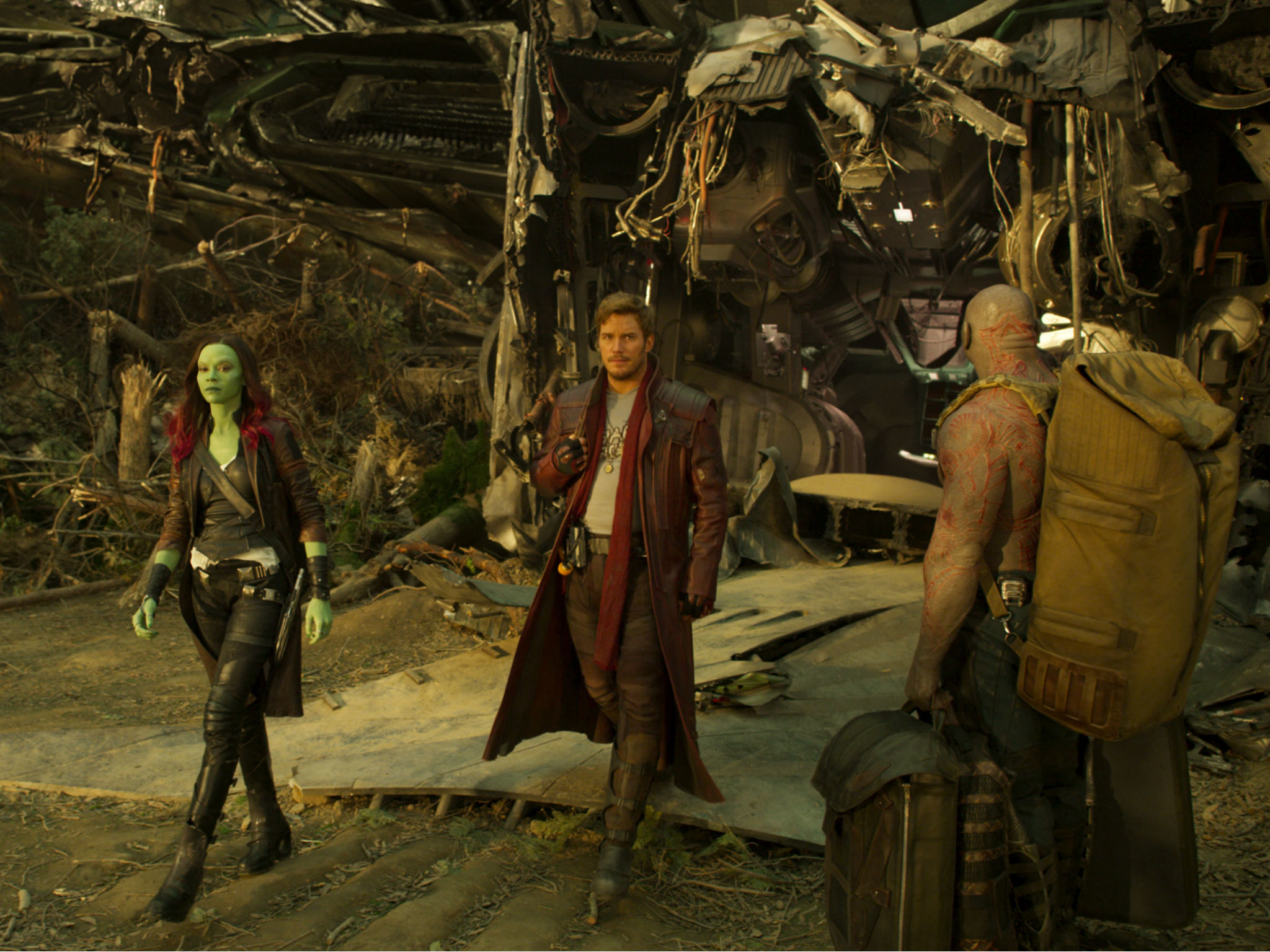 Fotograma de la cinta Guardianes de la galaxia 2