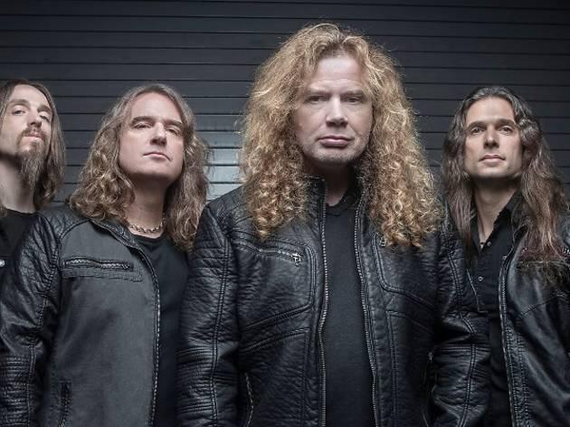 Megadeth live in KL