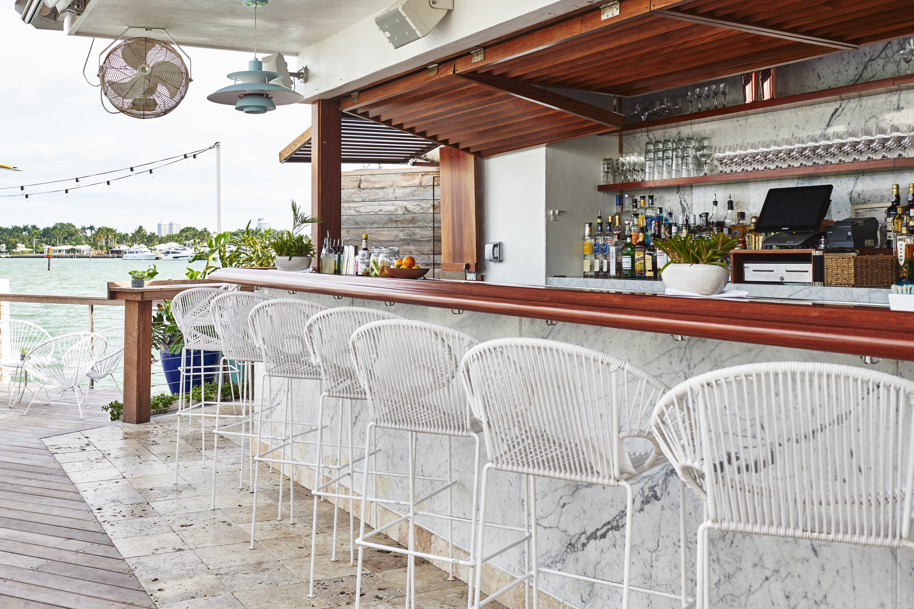 The best waterfront bars in Miami