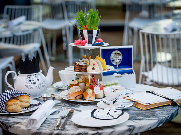 Mad Hatter's Afternoon Tea at Sanderson