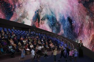Frost Science planetarium
