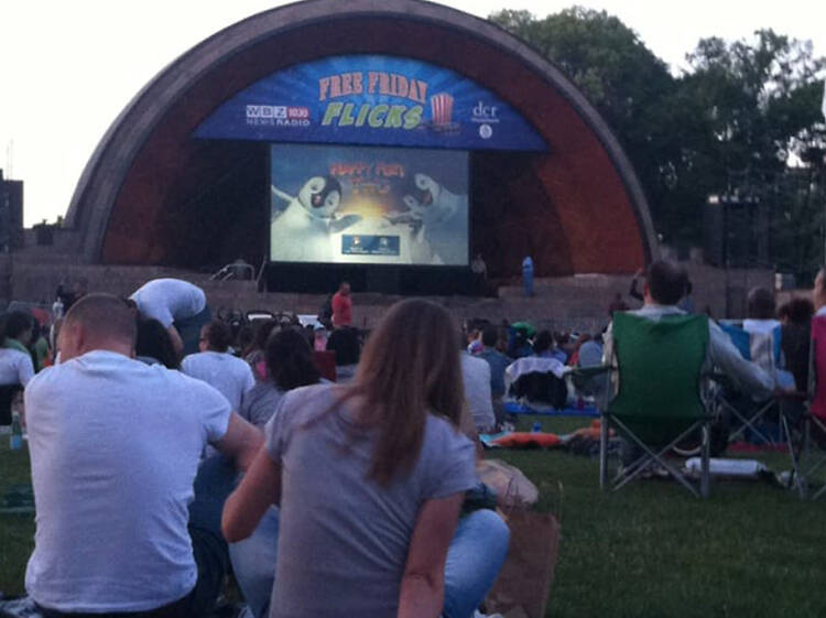 Catch a show at the Hatch Shell