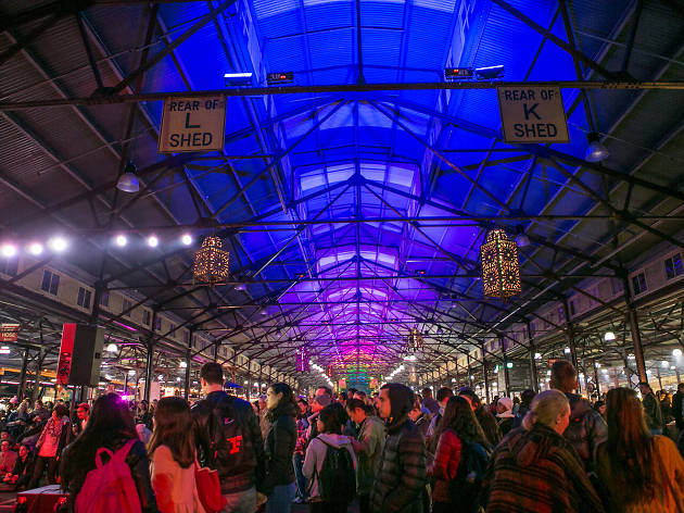 The Winter Night Market at Queen Vic Market