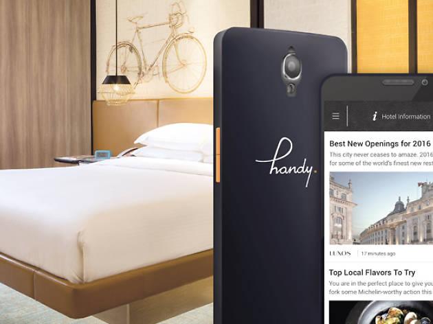 Hotel Jen Tanglin, handy in guestroom promotion