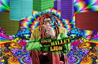 RASTA MILLET LION