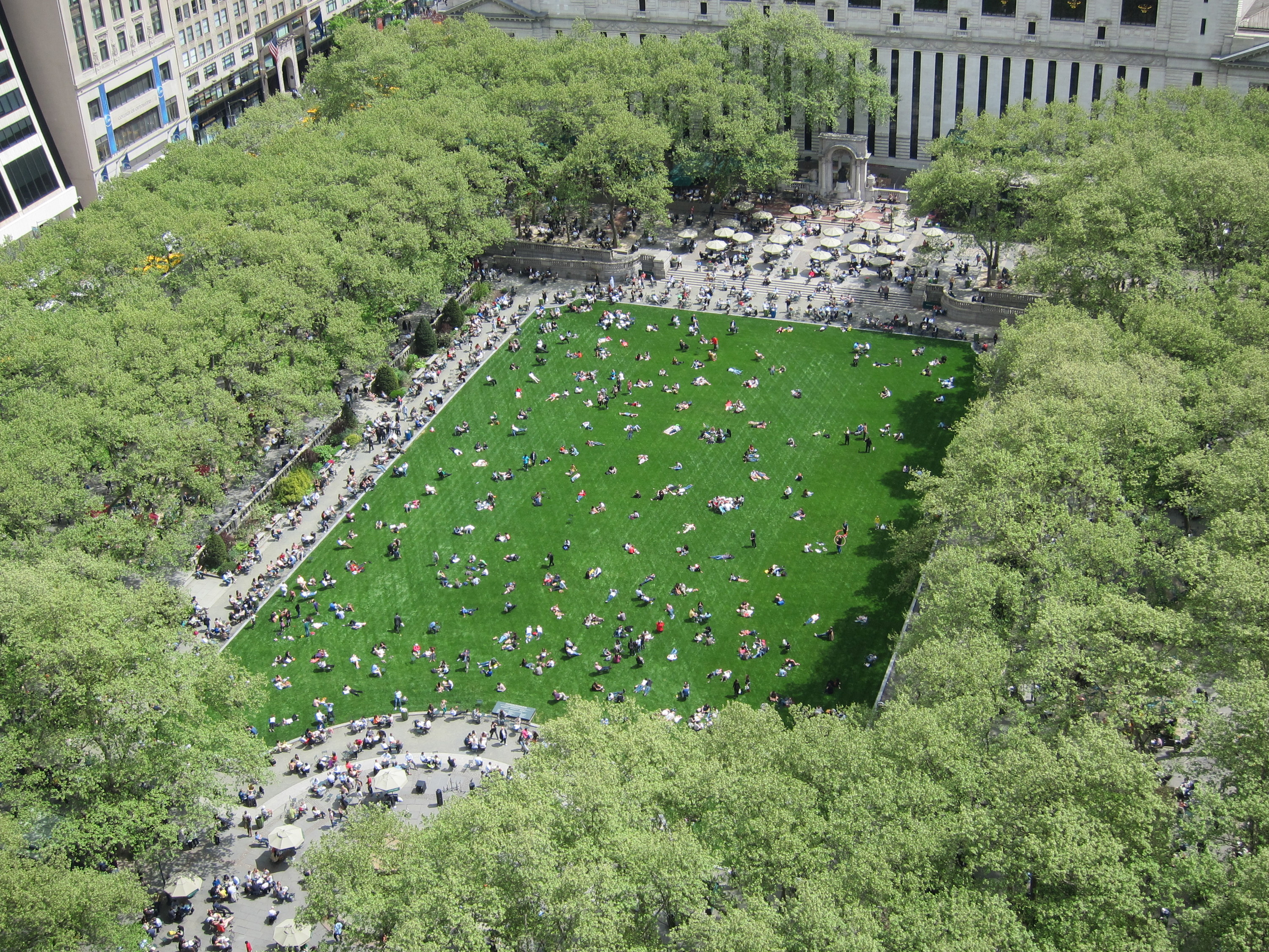 Bryant Park is throwing an all-you-can-eat ice cream party in June