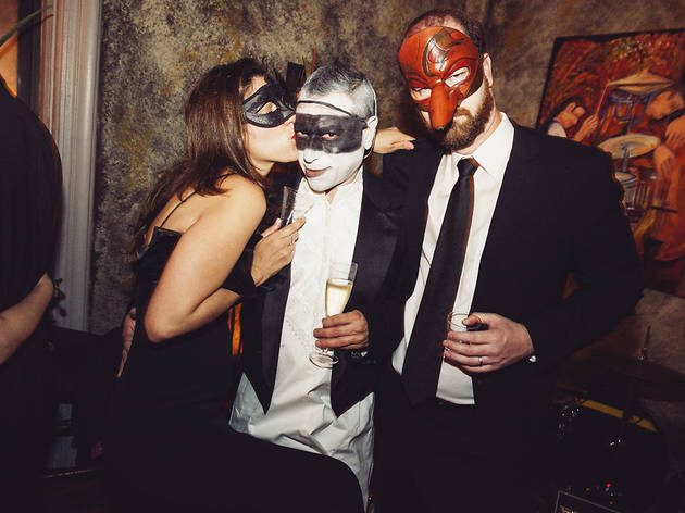 Check out the Masquerade on the Town