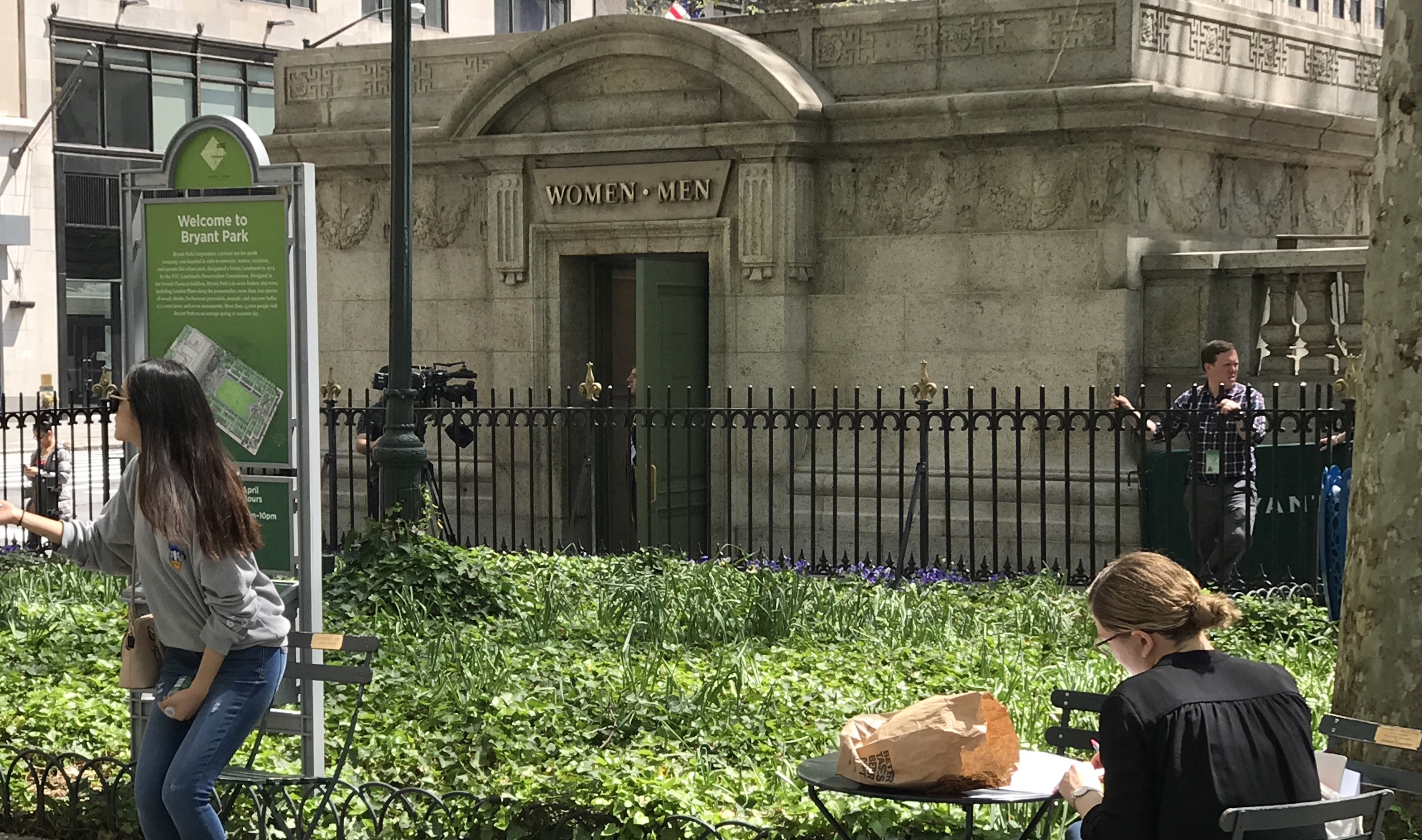 First look at NYC's most luxurious public restroom after its $300,000 makeover