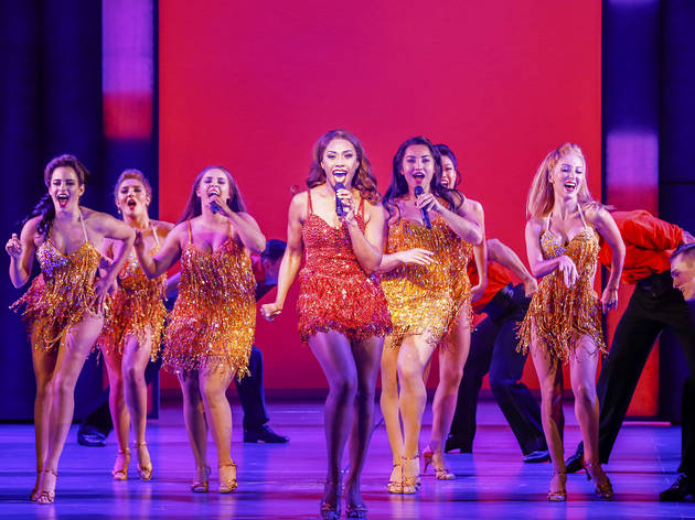The Bodyguard musical 2 (Photograph: Jeff Busby)