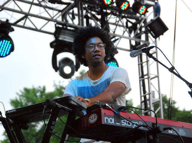 Poolside Party with Toro Y Moi