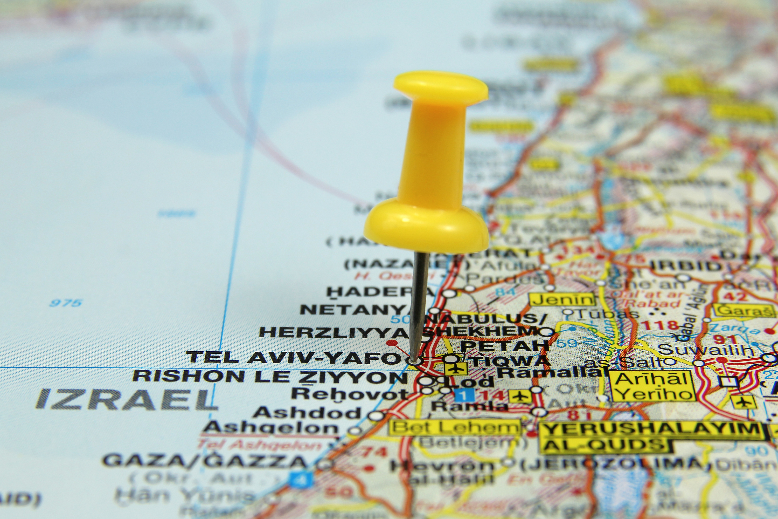 A complete area guide of places to visit in Israel from north to south