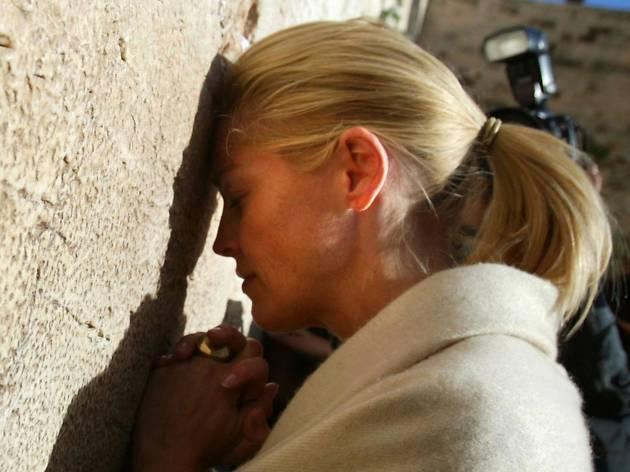 Sharon Stone Visits Israel