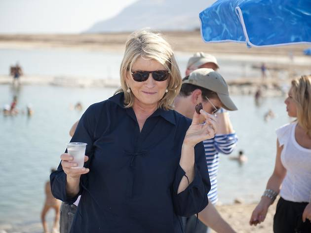 Martha Stewart Visits Dead Sea