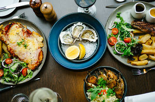 Wayside In NOBA Commercial oysters and pub food