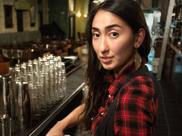 Caer Maiko Ferguson, assistant bar manager at Péché