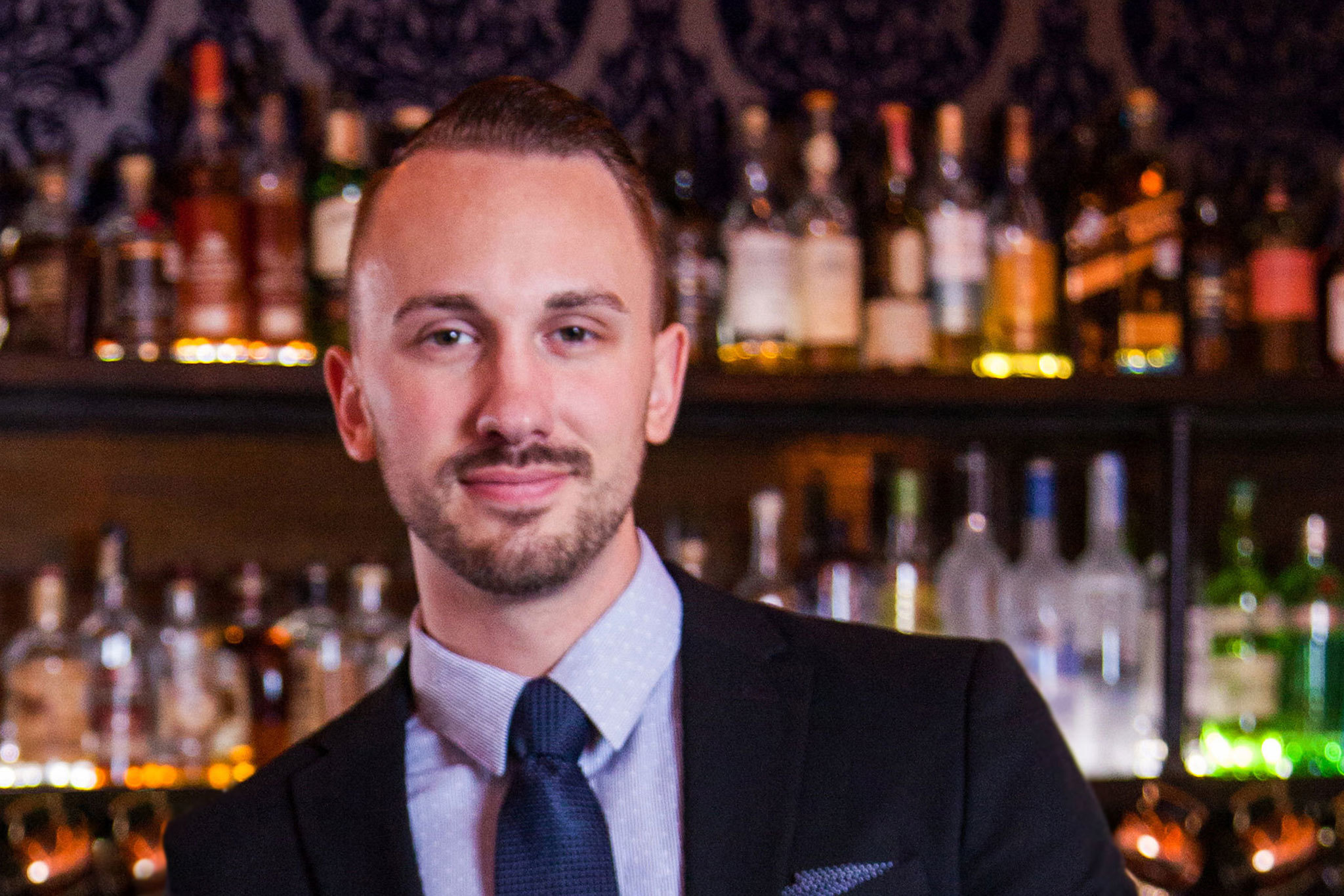 Justin Lavenue, co-owner at The Roosevelt Room