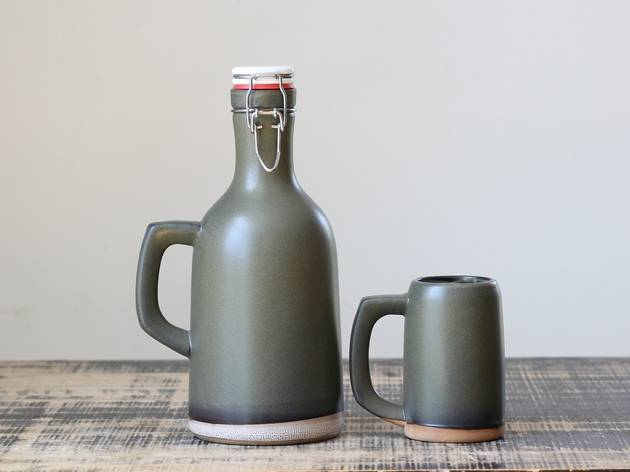 Grayling Ceramics growler