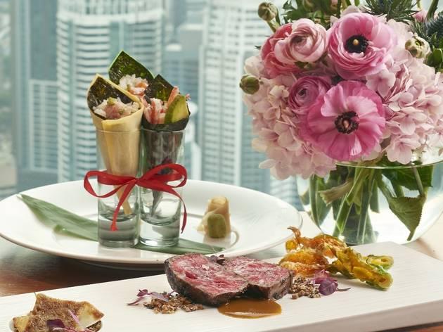 Mother's Day omakase menu at Nobu