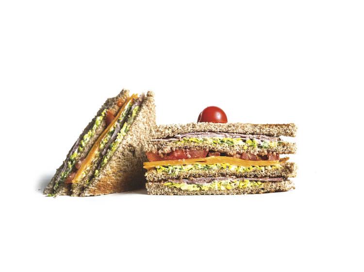 Club Sandwich da Delidelux