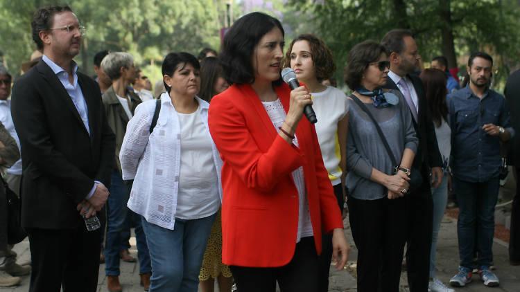 Patricia Elías Calles, directora del Festival de Flores y Jardines FYJA