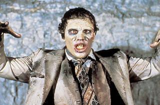 fotograma de película zombie