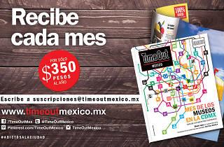 Suscripciones Time Out México