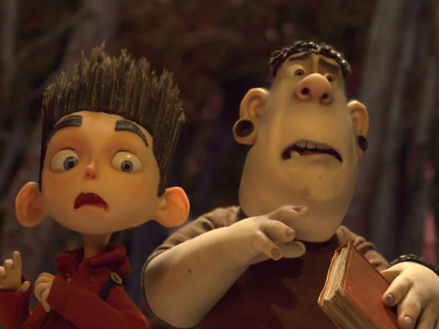 Norman y Alvin sorprendidos por los zombies
