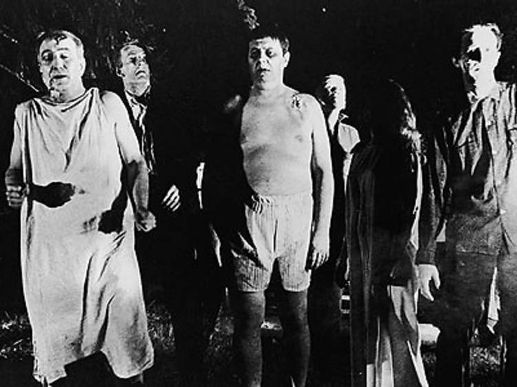 Los zombies de George A. Romero