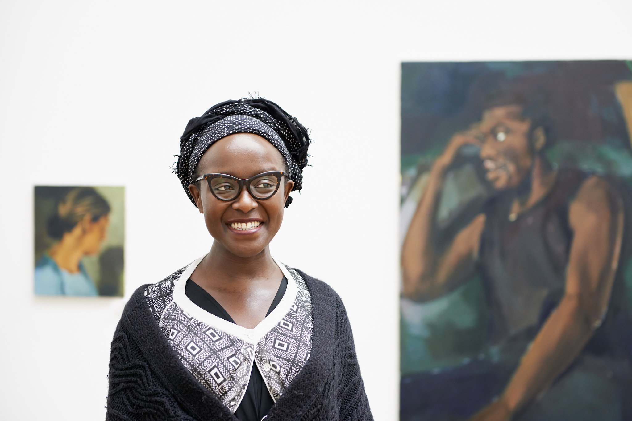 Lynette Yiadom-Boakye talks about creating fictional characters through portraiture