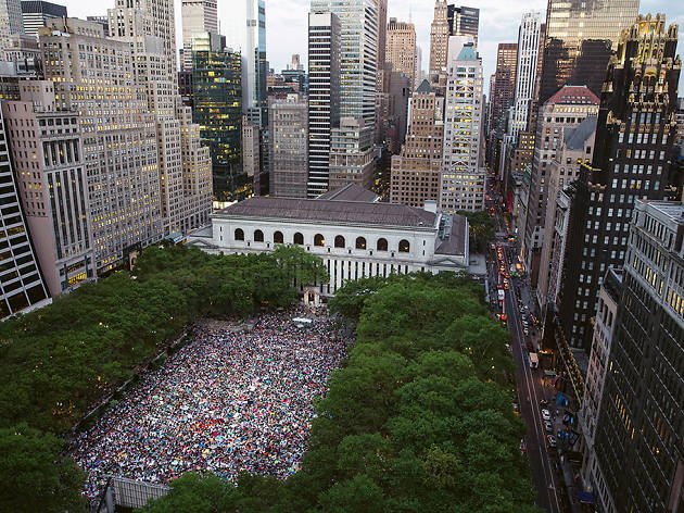 HBO Bryant Park Screenings
