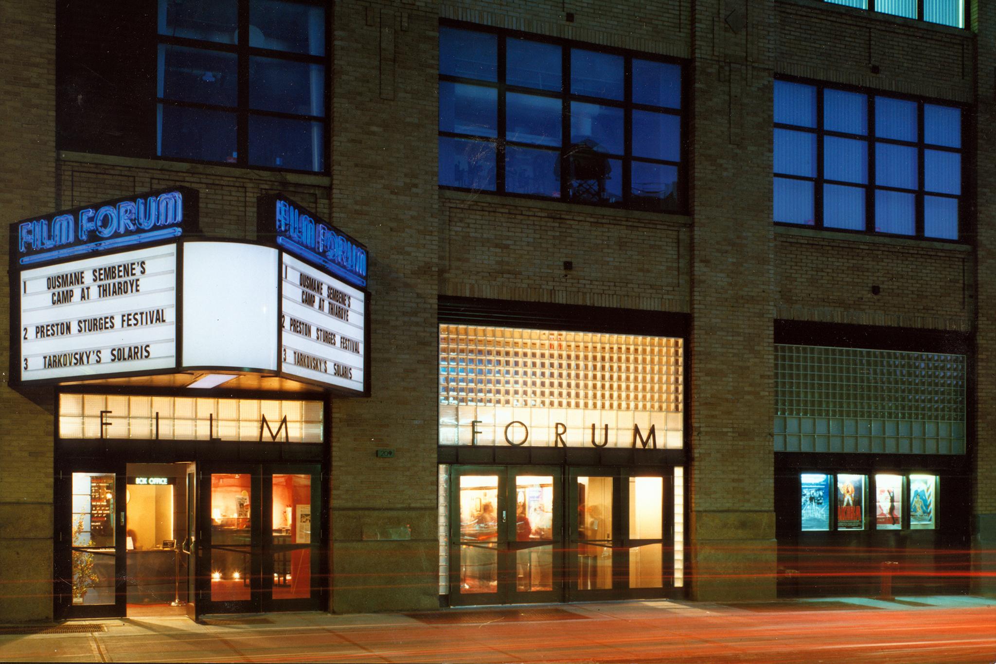 Film Forum marquee