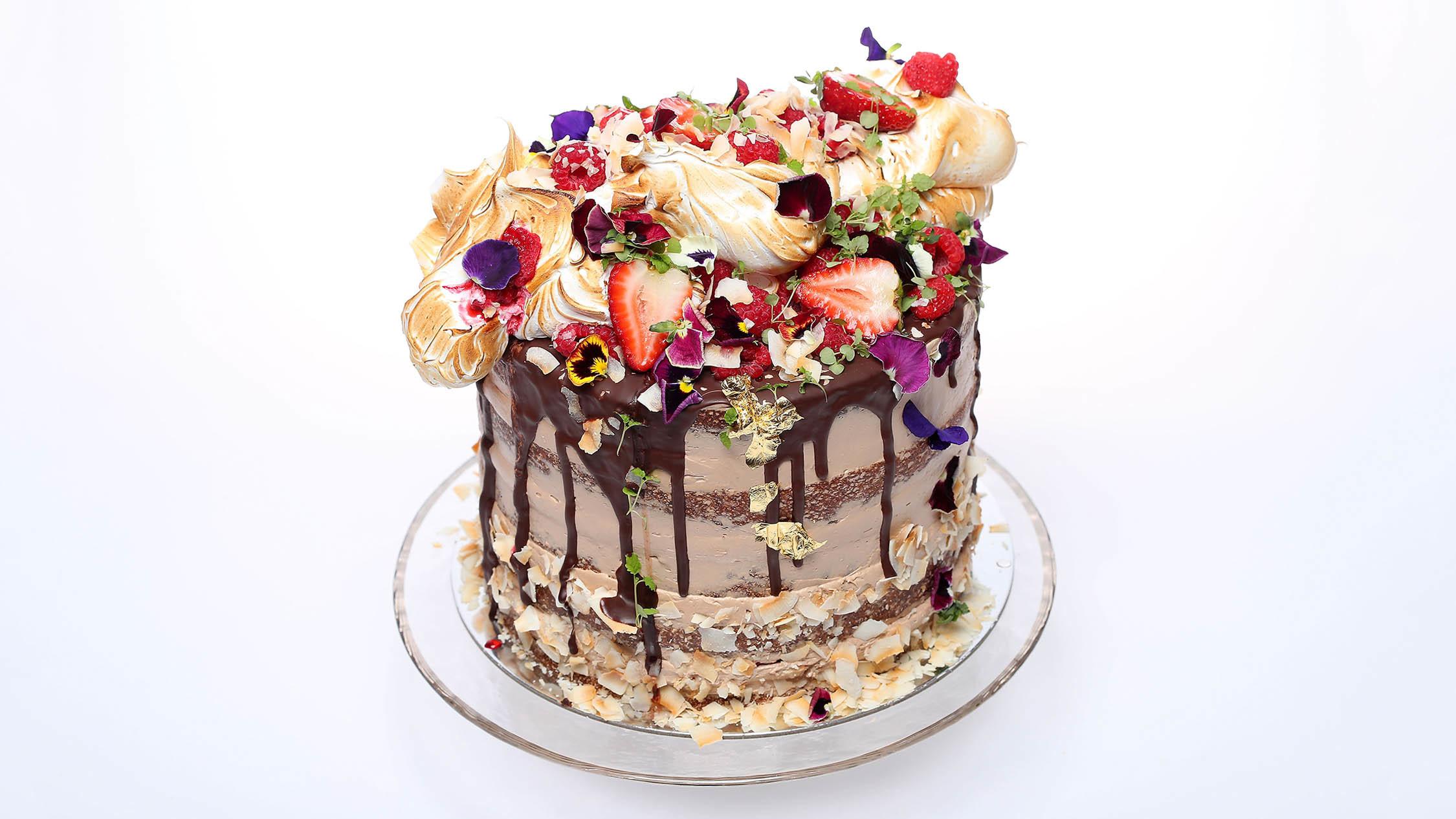 Millstone Lamington cake