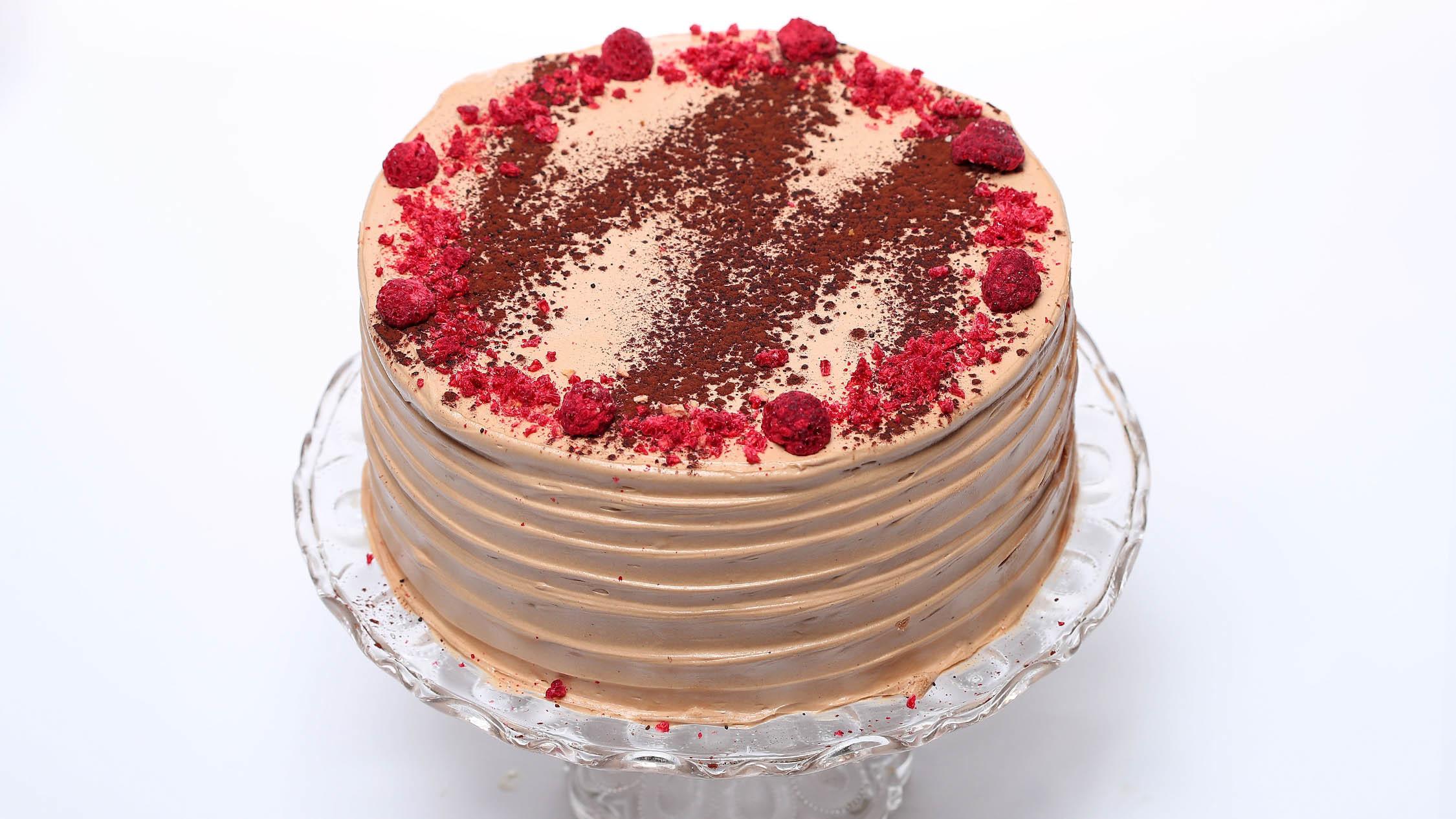 Beatrix sour cream chocolate cake
