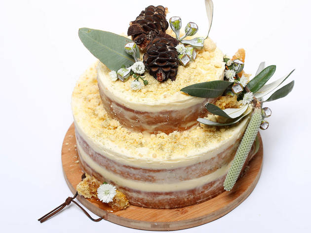 Sticky Fingers Bakery Honey for Ray cake
