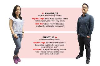 Find me a date: Freddy and Amanda