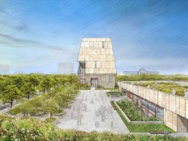 Here's a first look at the design of the Obama Presidential Library in Jackson Park