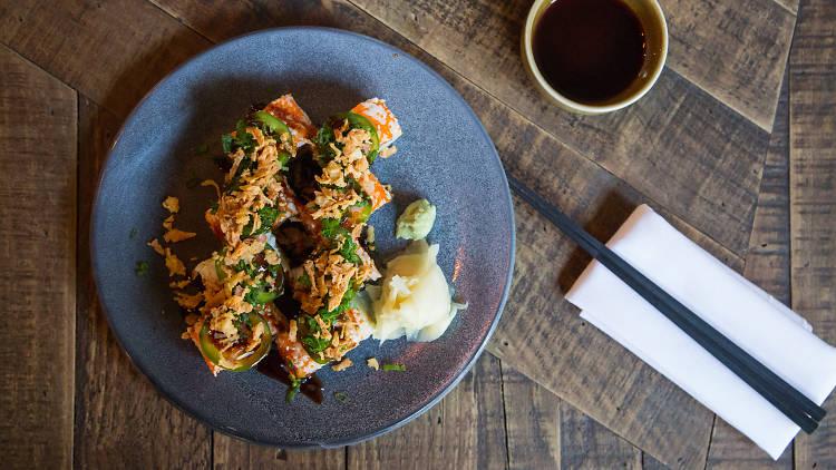 Comida japonesa en la CDMX