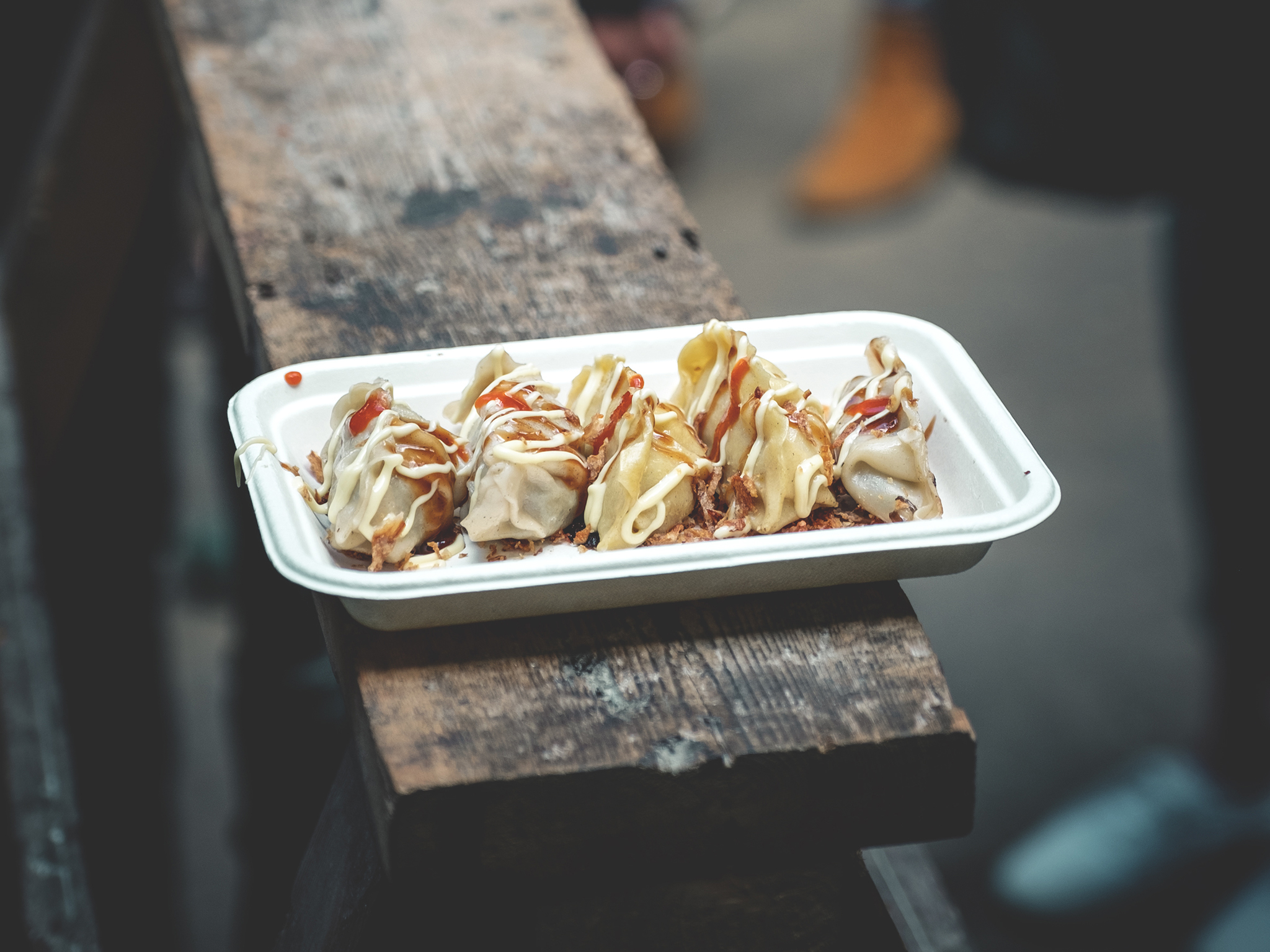 london's best street food, gyoza guys