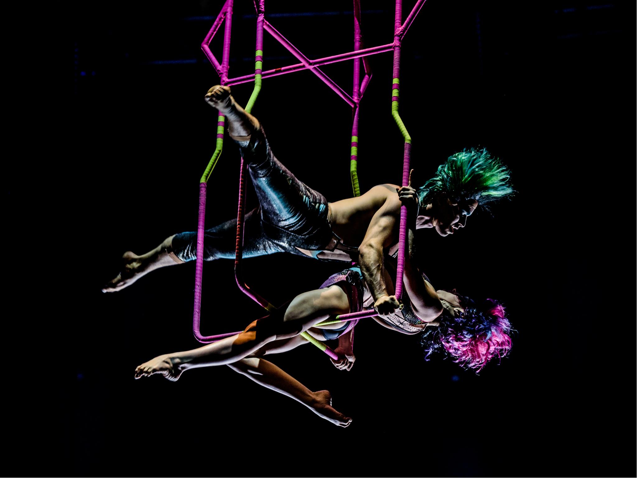 SEP7IMO DÍA - No Descansaré Cirque du Soleil