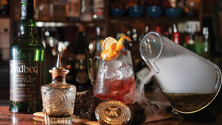Ardbeg cocktails (Photograph: Supplied)