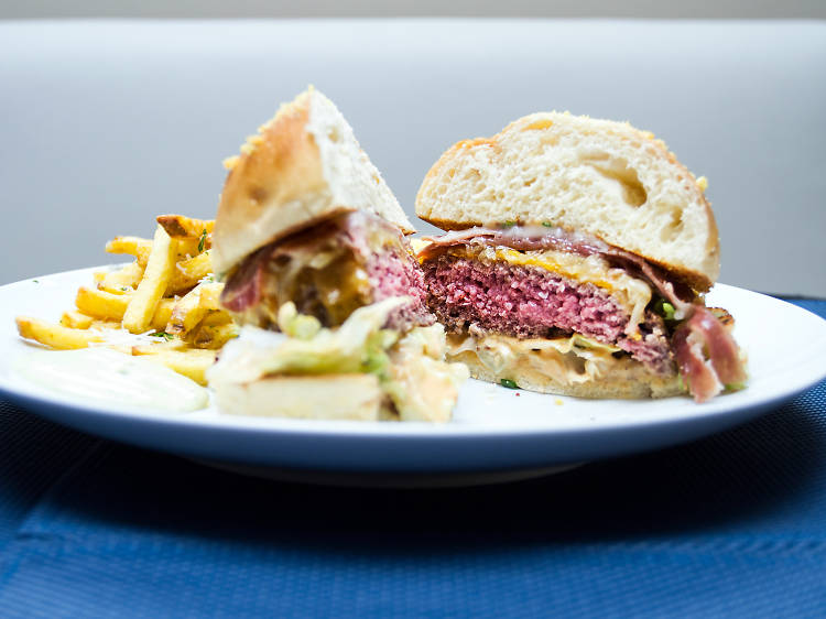 Try one of Porto's best burgers
