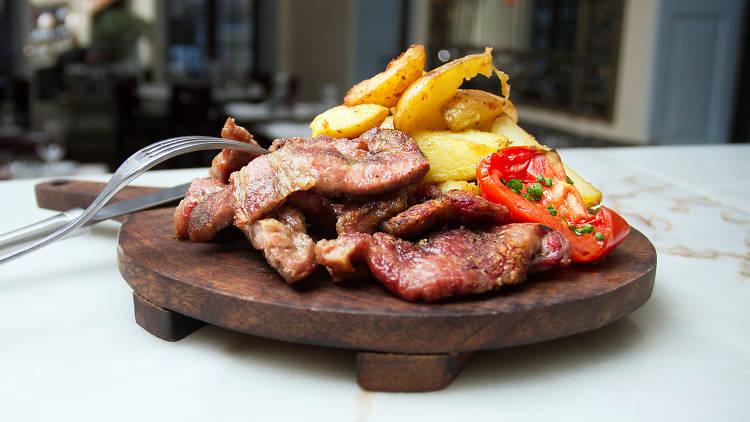 Restaurantes, Reitoria, Steakhouse, Cachaço de Porco Preto