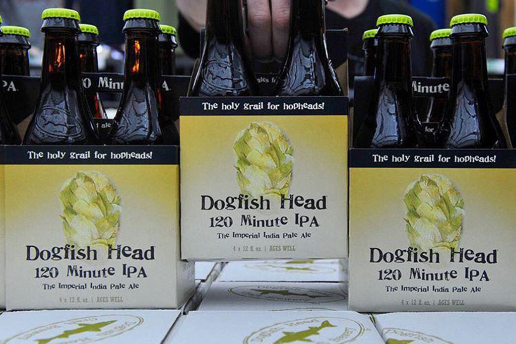 120 Minute IPA, Dogfish Head Craft Brewery, Milton, Delaware