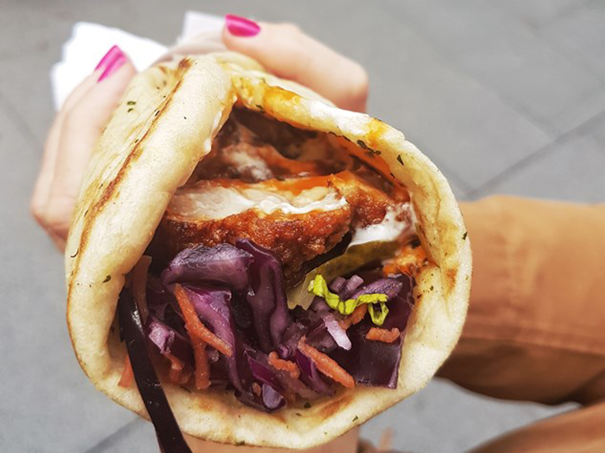 luxury flats, london's best street food