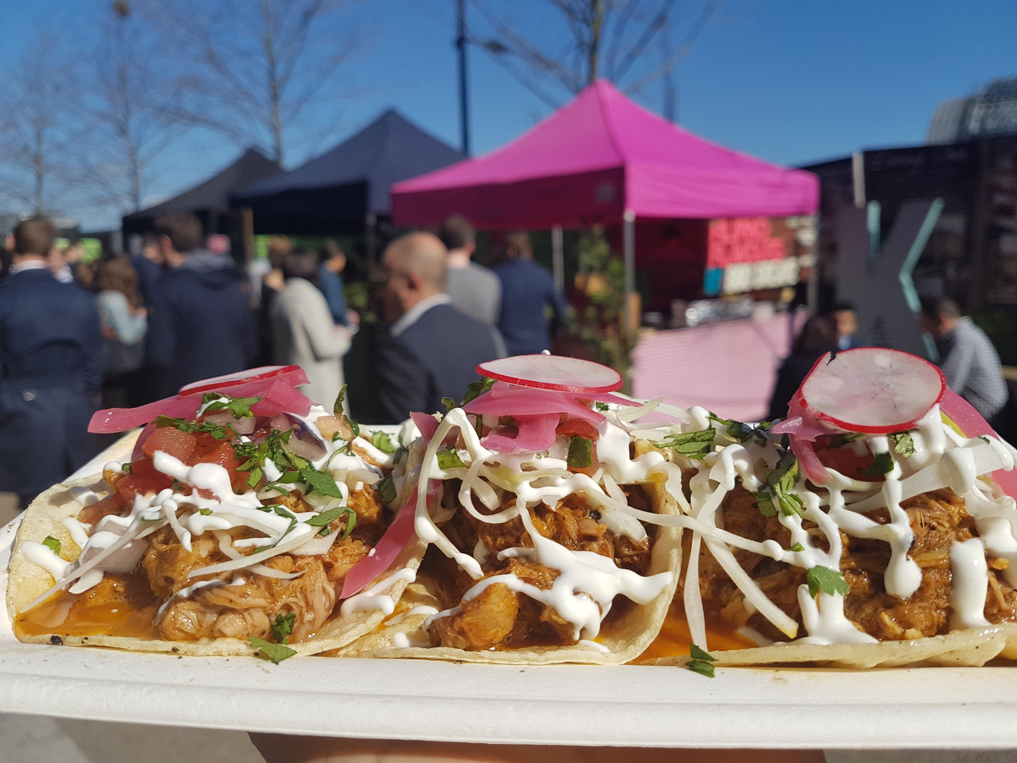 london's best street food, taco dave