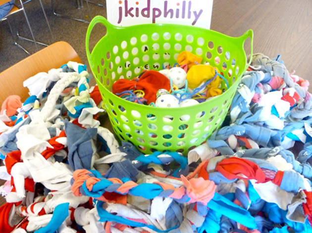 Jkidphilly at the Jewish Learning Venture