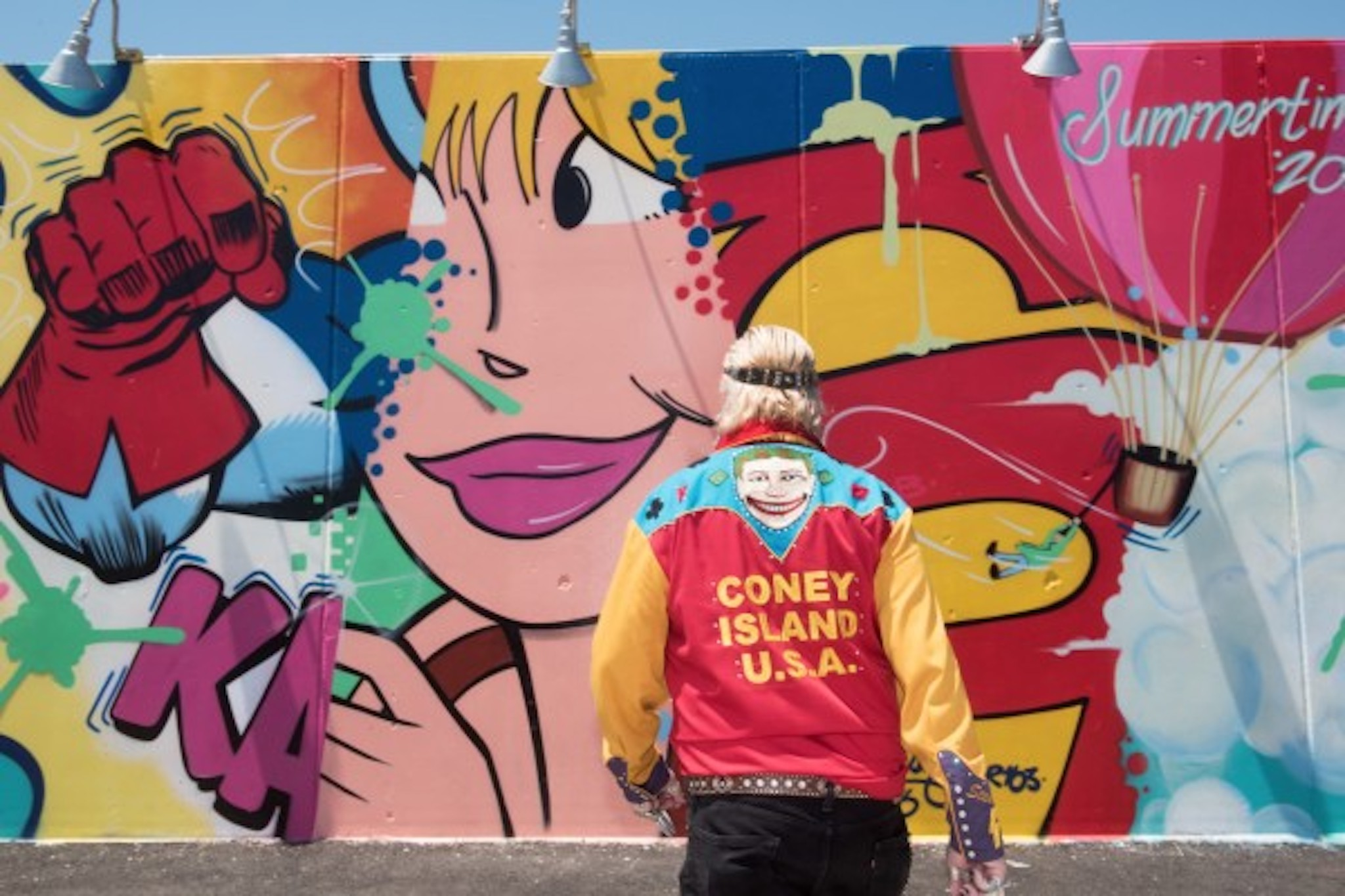 "Popular street art exhibition, ""Coney Art Walls"" returns for another run"