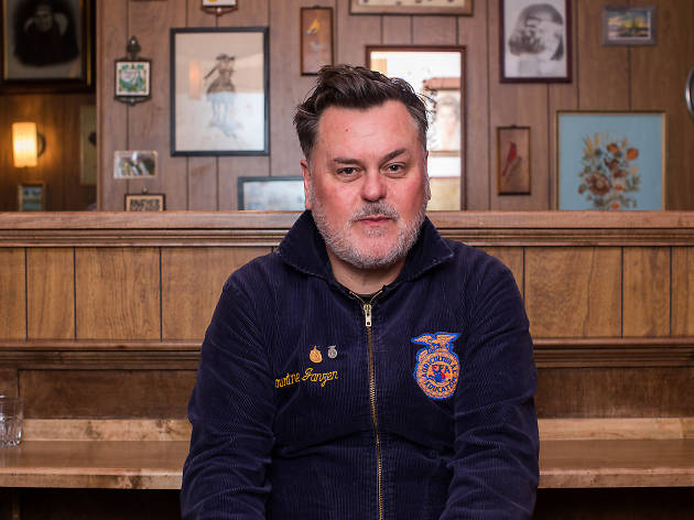 Spanky Van Dyke, Lead bartender, The Flower Shop