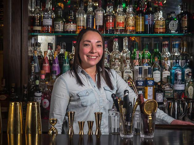 Jessie Dure, Head bartender, Chumley's