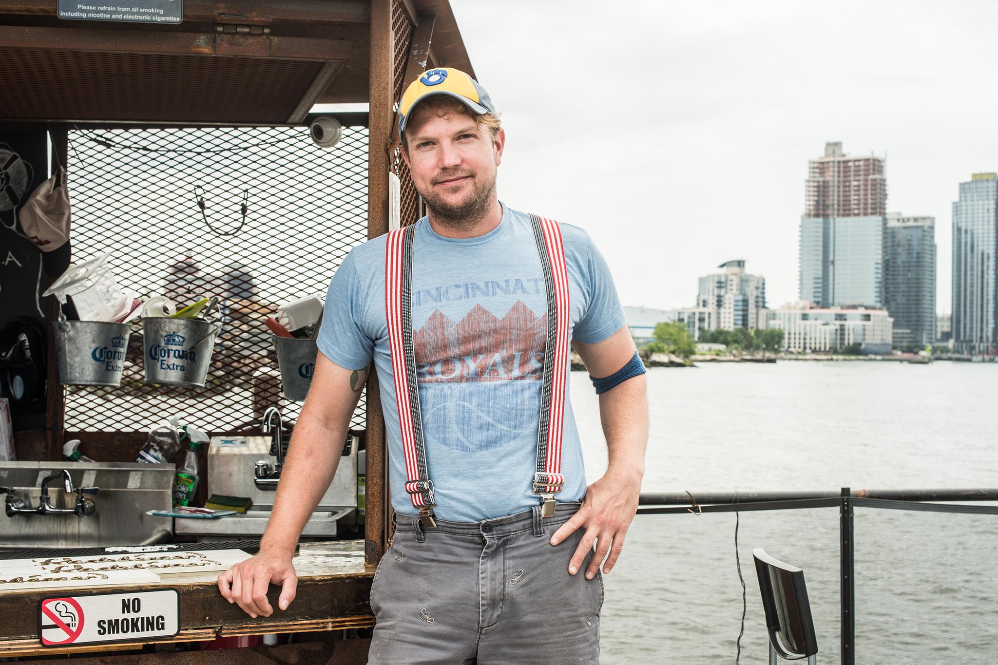 John Wernke, Head bartender, Brooklyn Barge